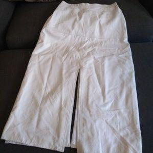 Vintage 80's leather skirt